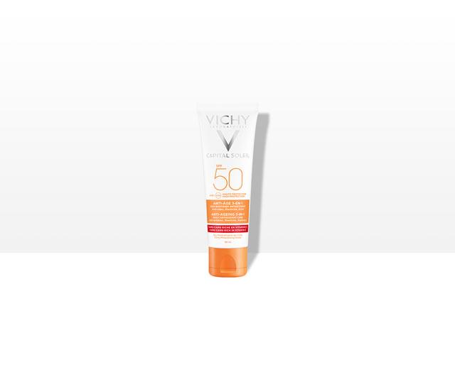 Anti-Age 3-i-1 Solcreme SPF50