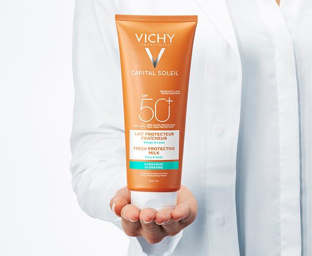 Sollotion SPF50+ til ansigt og krop