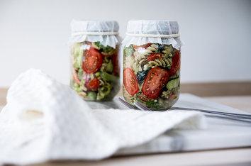 Foodlab - Vi har lavet lunch in a jar