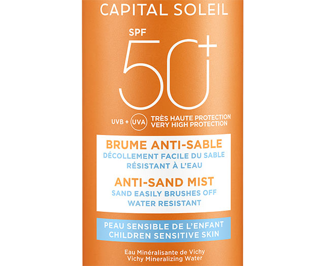 Anti-Sand Mist til Børn SPF 50+