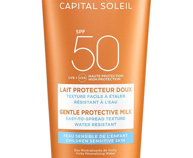 Sollotion til børn SPF50, ansigt og krop